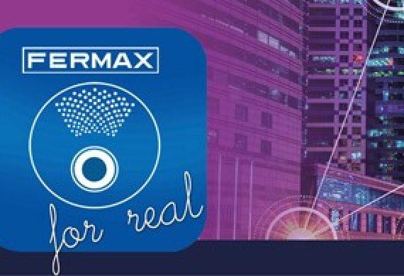 Nueva versión de la APP FERMAX FOR REAL con Realidad Aumentada: Interactúa con producto FERMAX desde tu móvil